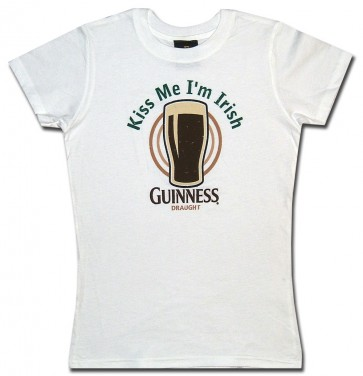 Guinness Women's Shirt : Kiss Me Babydoll