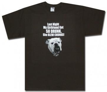 My Girlfriend T-Shirt - So Drunk T-Shirt