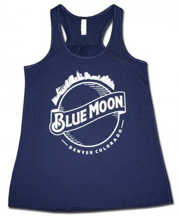 Blue Moon Women's Flared Tank Top