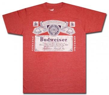 Classic Budweiser Label Comfort T-Shirt