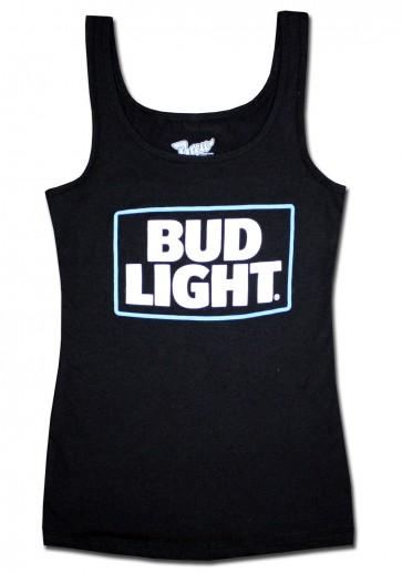 Bud Light Women's Black Tank Top