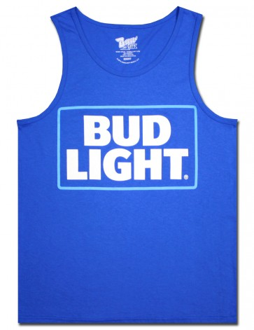 Bud Light Blue Men's Tank Top