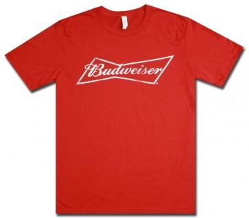 Budweiser Red Bowtie T-Shirt