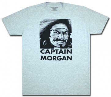 Grey Face Off Captain Morgan T-Shirt