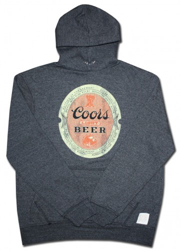 Vintage Coors Light Pullover Hoody