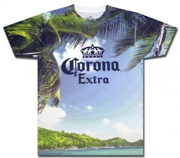 Sublimated Corona Extra Island T-Shirt
