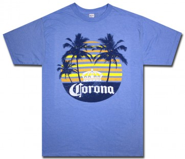 Corona Rainbow Beach Big & Tall T-Shirt
