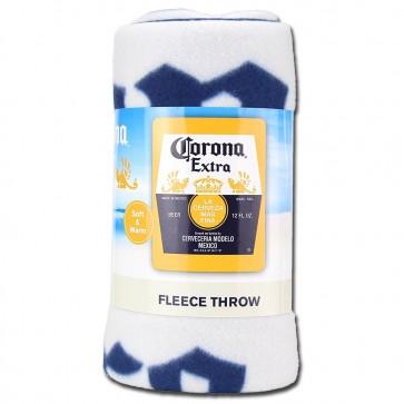 Corona Extra Yellow Fleece Blanket