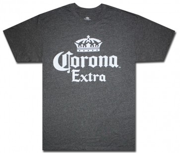 Corona Extra Charcoal T-Shirt Big & Tall