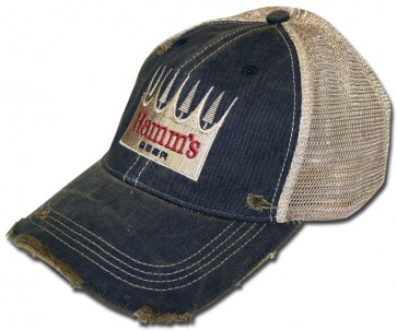Hamm's Beer Ripped Retro Hat
