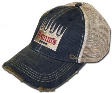 Hamm's Beer Ripped Retro Hat