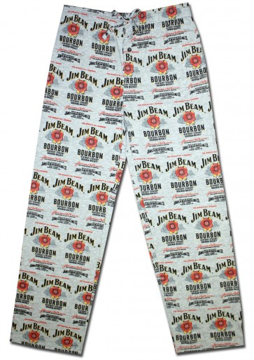 Jim Beam Label Spread Pajama Pants