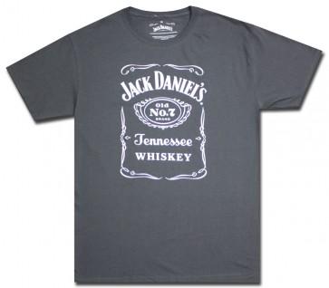 Charcoal Jack Daniel's Saloon T-Shirt