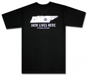 Distressed Jack Daniel's Lives Here T-Shirt