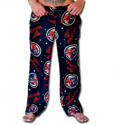 Fleece Miller High Life Pajama Pants