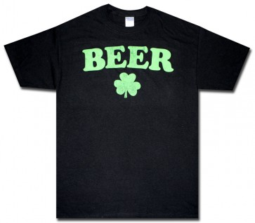 Irish T-Shirt : Black Beer Shirt