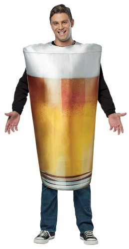 Beer Glass Costume : Real Pint Of Beer