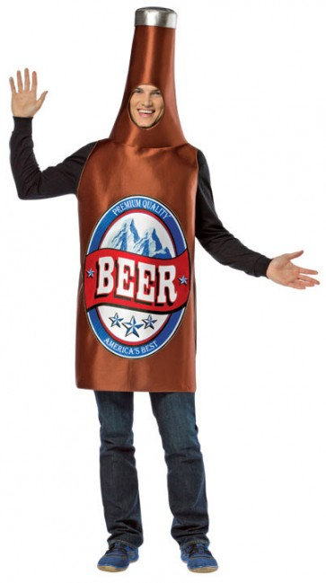 Beer Bottle Costume : Lightweight Premium