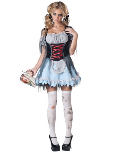 Zombie Beer Maiden Costume : Women's Dress