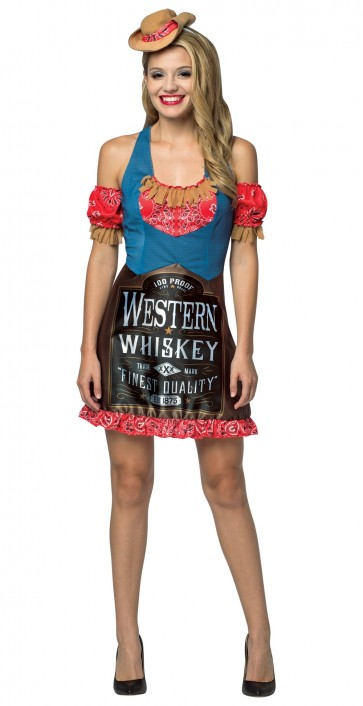 Western Whiskey Ladies Costume