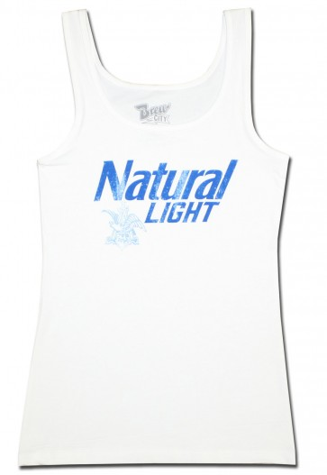 Natural Light Ladies Tank Top