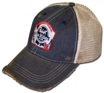 PBR Washed Ripped Hat