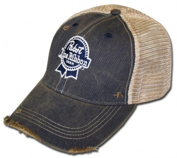 PBR Medal Washed Ripped Hat