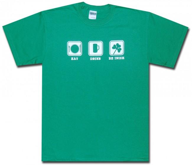 836372e9 Irish T-Shirt   Eat Drink Be Irish T-Shirt   Funny Drinking T-Shirt