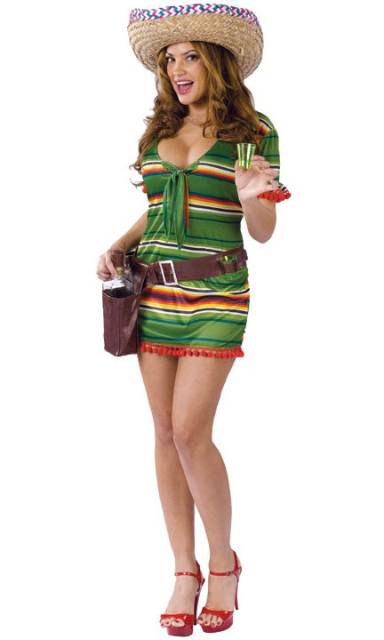tequila girl costume sexy shooter fun beer costume
