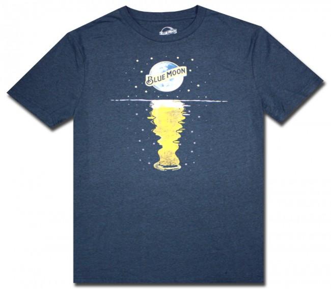 beer reflection blue moon t shirt beertees com