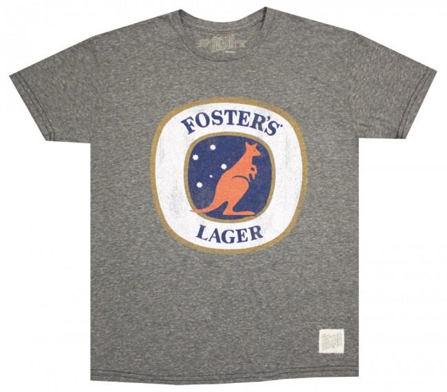 Vintage Foster S Logo T Shirt Beertees Com