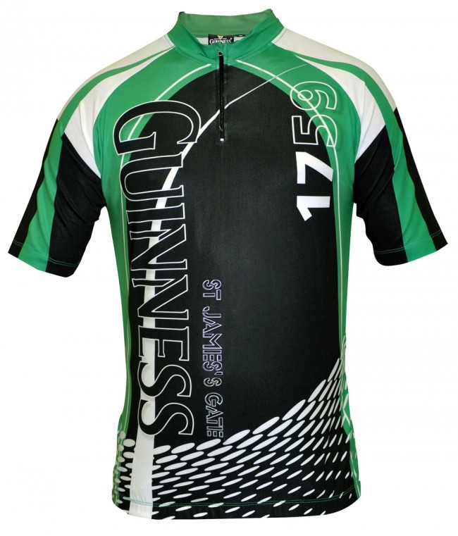 Guinness Cycling Jersey St James Gate Officially