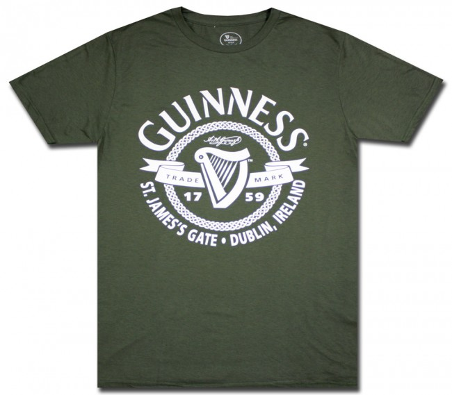 St James Gate Guinness Trademark T Shirt Beertees Com