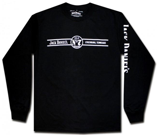 Jack Daniel S Long Sleeve T Shirt Bars Officially