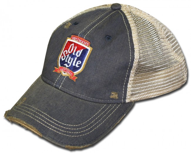 e3f263f70e4 Home  Vintage Washed Old Style Trucker Hat. Front