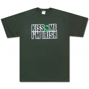 Irish Shirt : Kiss Me Im Irish T-Shirt