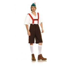 Lederhosen Costume : Tri Color