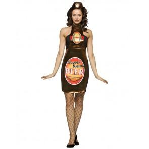 Beer Bottle Costume : Golden Nights Women's Dress