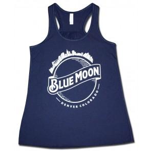 Blue Moon Women's Flared Tank Top