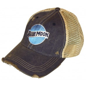 Blue Moon Retro Mudwashed Hat