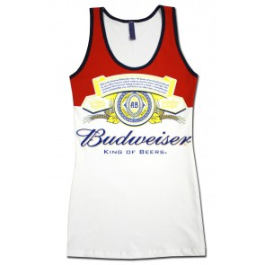 Emblem Budweiser Women's Long Tank Top