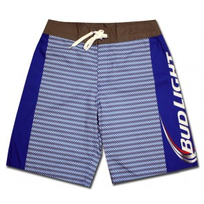 Miller Lite Mens Summer Holiday Quick-Drying Swim Trunks Beach Shorts Board Shorts