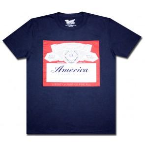 """""""America"""" Navy Budweiser T-Shirt"""