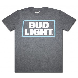 Charcoal Blue Bud Light T-Shirt