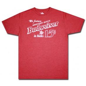 15 Cent Bottles Budweiser Vintage T-Shirt