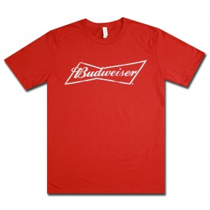 Budweiser Red Bowtie T-Shirt