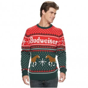 Budweiser Ugly Holiday Sweater
