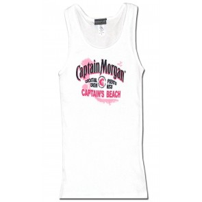Captain Morgan Women's Beater - Captain's Beach