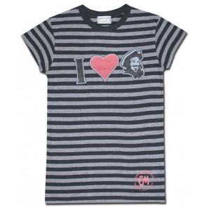 Captain Morgan Women's Shirt : Black Stripes