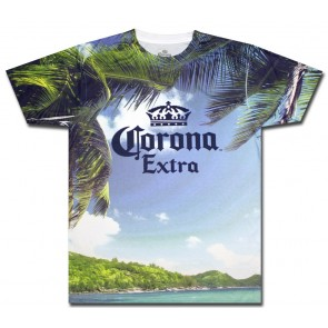 Sublimated Corona Extra Island T-Shirt